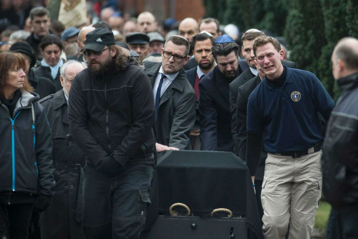 Похороны Дана Узана
