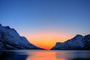 Заря в Арктике