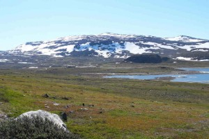 Норвежская сторона сопки Халти