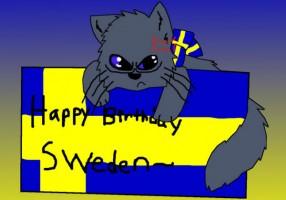 С днем рождения, Швеция