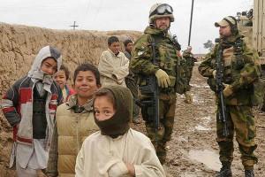Норвежские военные инструкторы в северном Ираке