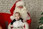 Принц Николас получил первый в своей жизни визит Санта-Клауса