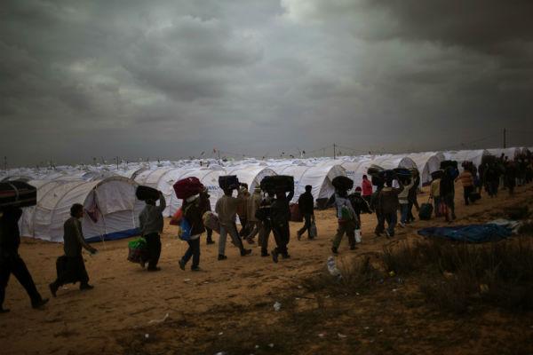 Поток беженцев