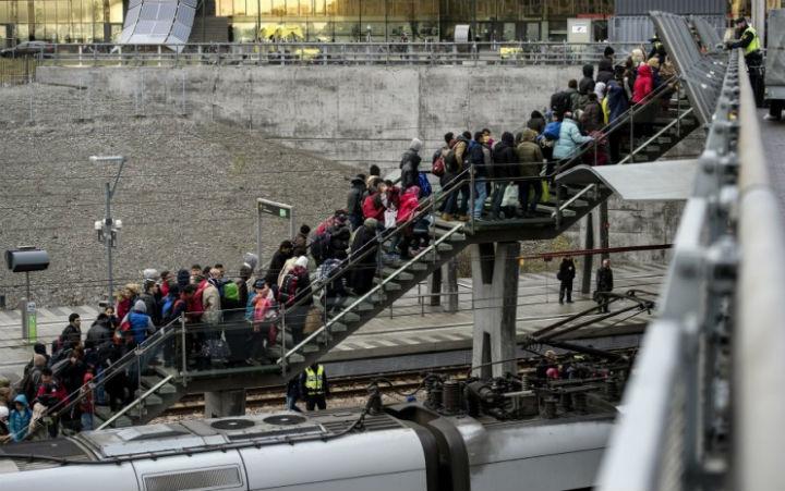 Беженцы в Мальмё