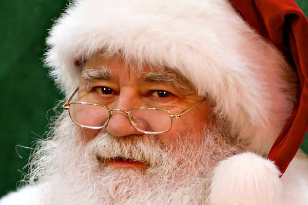 Живой Санта-Клаус