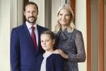 Норвежской принцессе Ингрид исполнилось 12 лет