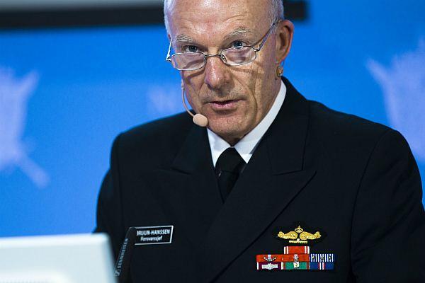 Начальник штаба норвежских ВС Хокон Бруун-Хансен