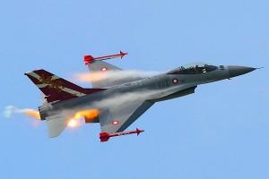 F 16 ВВС Дании