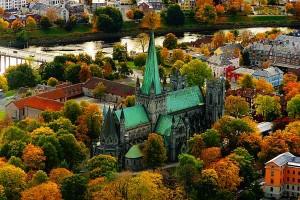 Главный собор Норвегии Nidaros Cathedral, Тронхейм