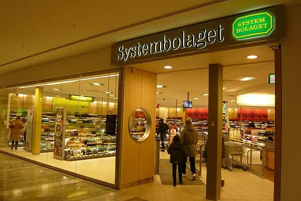 Шведский государственный винный магазин Systembolaget