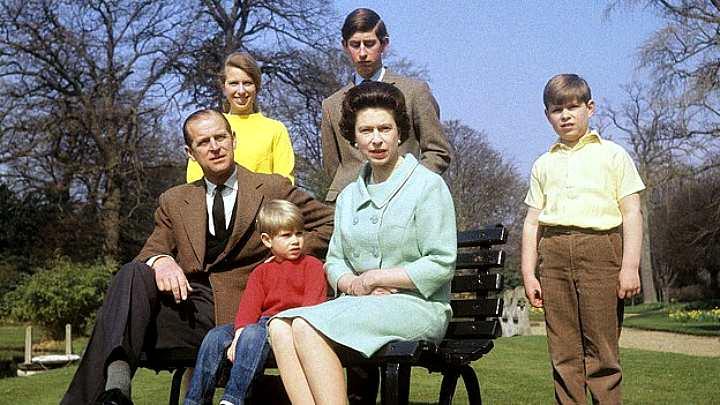 Королевская семья в 1968 году
