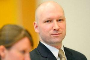 Андерс Брейвик на мартовском заседании суда