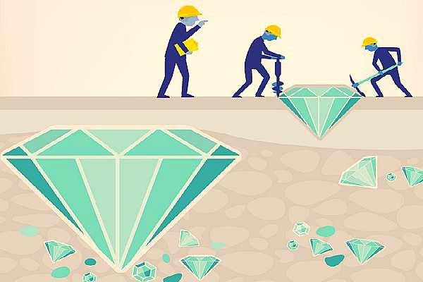 Добыча алмазов