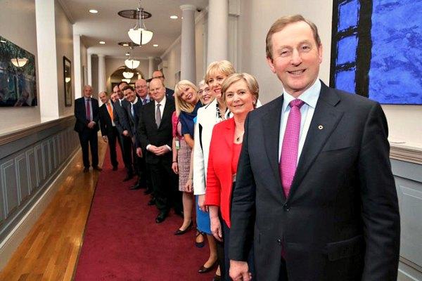 Новый кабинет министров Ирландии