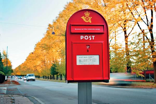 Почтовый ящик в Копенгагене