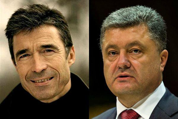 Андерс Фог Расмуссен и Петр Порошенко