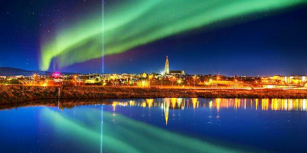 Рейкьявик, столица Исландии