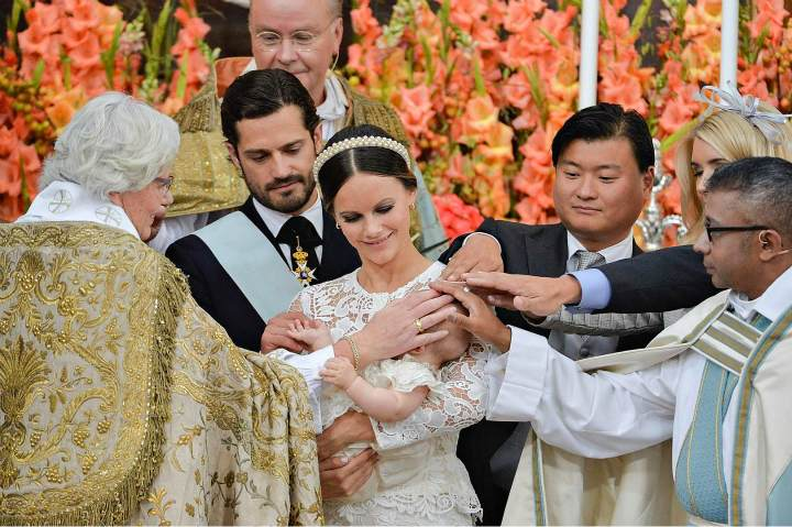 Крещение шведского принца Александра