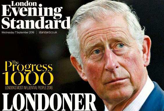 Принц Чарльз - лондонец десятилетия
