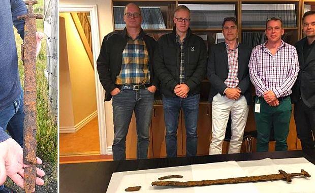 Археологи и меч викингов