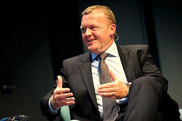 Премьер-министр Дании Ларс Лёкке Расмуссен