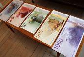 Банк Норвегии представил новые банкноты на морскую тематику
