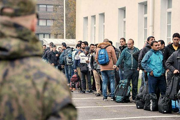 Миграционный центр в Мальмё, Швеция