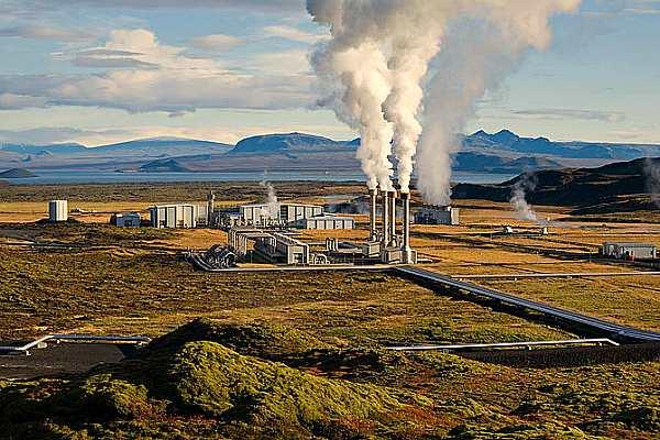 Геотермальная станция Hellisheidi, Исландия