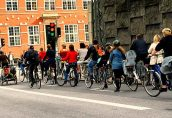 Велосипеды вытесняют автомобили с дорог Копенгагена