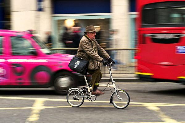Лондонский велосипедист